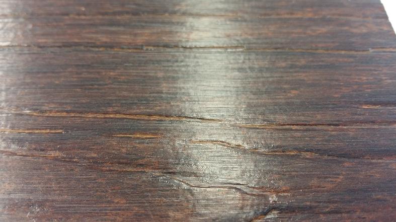 Profilering houtstructuur laminaat